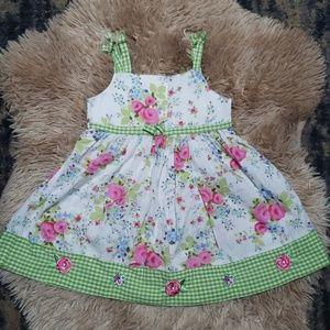 BLUEBERI BLVD Girls Summer Dress